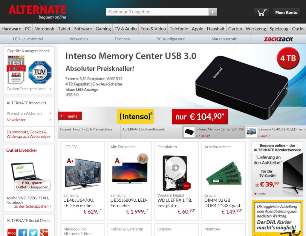 der alternate-online-shop