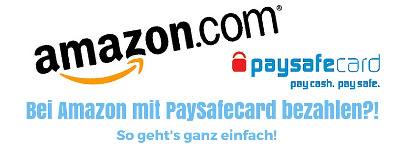 Amazon Mit Paysafecard