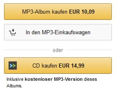 Bei Amazon den MP3 Einkaufswagen nutzen