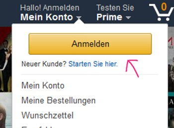 Amazon Namen umändern