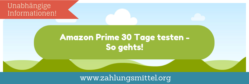 Testmitgliedschaft bei Amazon Prime abschließen