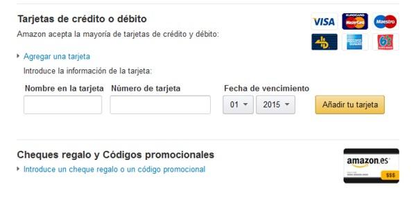 Amazon Spanien Zahlungsarten