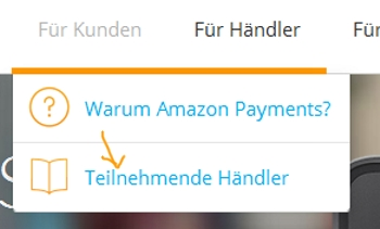 Amazon Payments Händler