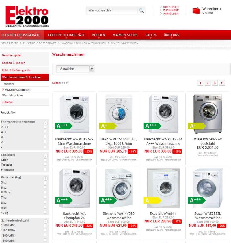Turbo 100% sicher bestellen - Waschmaschinen auf Rechnung kaufen RO29