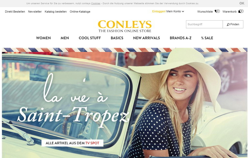 der conleys-online-shop
