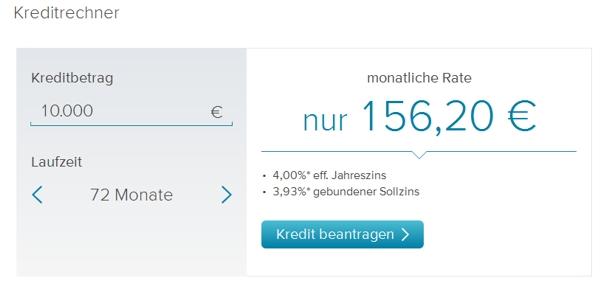 Consorsbank mit Sondertilgung – Rechner nutzen