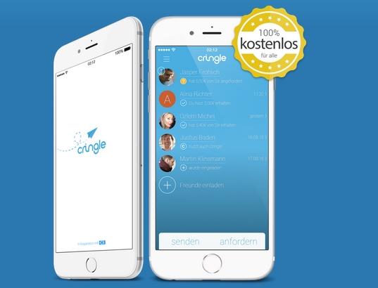 So sieht die Cringle App für den User aus