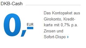 Das Kontomodell DKB Cash