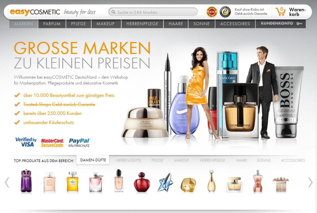 der easycosmetic-online-shop