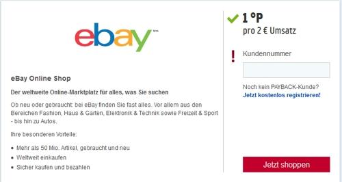 Payback Karte Vorteile.Bei Ebay Payback Punkte Sammeln So Geht S
