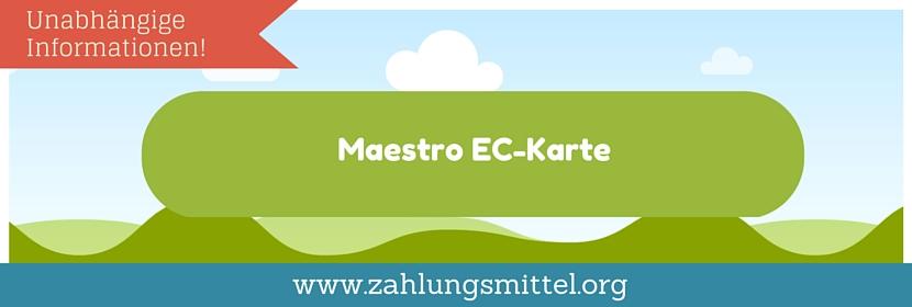 Was Ist Eine Maestro Karte