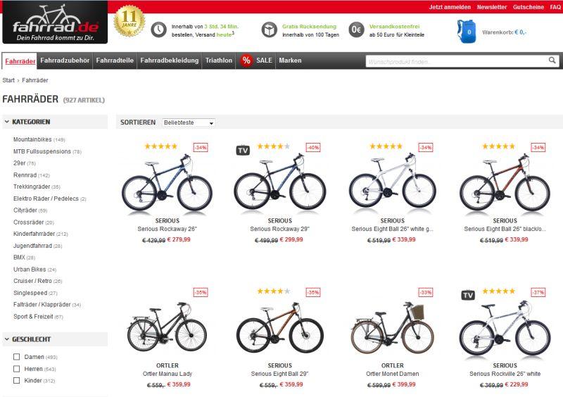100 sicher bestellen fahrr der auf rechnung kaufen. Black Bedroom Furniture Sets. Home Design Ideas
