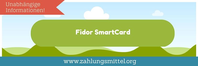 So funktioniert die Fidor Prepaid SmartCard !