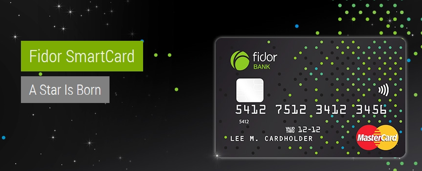 Die innovative Fidor SmartCard