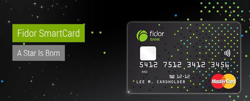 Die innovative Fidor SmartCard