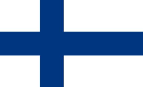 Fahne von Finnland