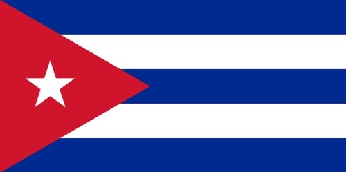 Fahne von Kuba