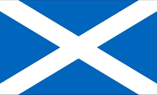Die Fahne von Schottland