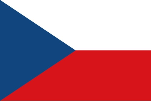 Flagge der Tschechei