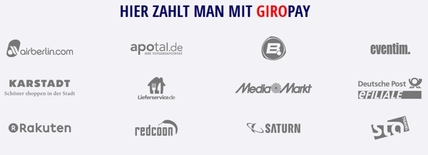 Online-Shops mit Giropay