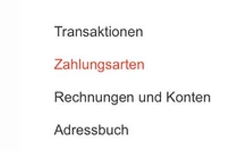 Die Möglichkeiten im Google Wallet Konto