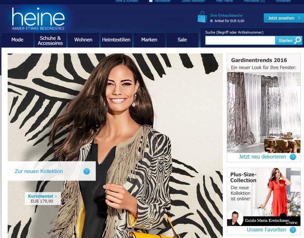 Der Heine.de Online-Shop
