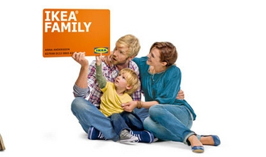 Die IKEA Family Card