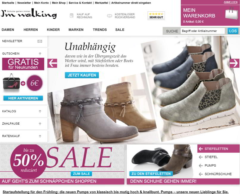 der im-walking-online-shop