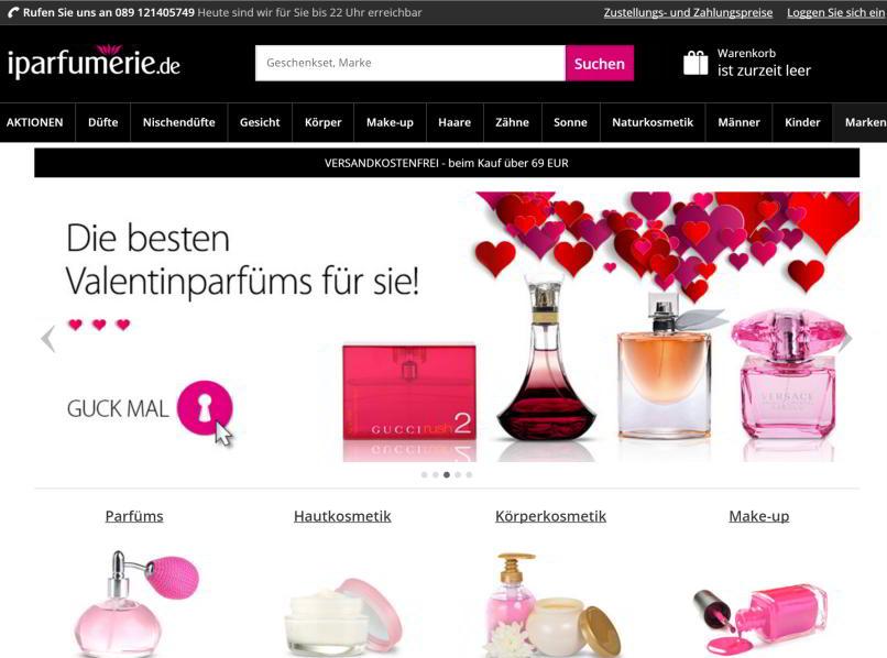 der iparfumerie-online-shop