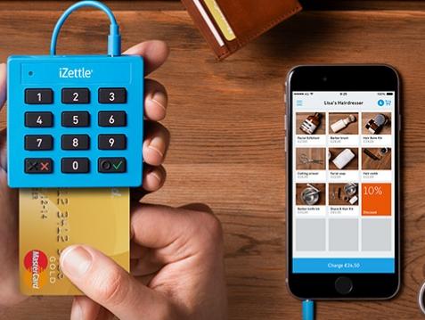 Das Kartenlesegerät von iZettle kostenfrei
