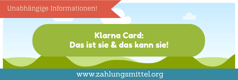 So funktioniert die Klarna-Card