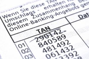 Nicht mehr ganz zeitgemäß: Die TAN-Liste