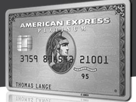 Platinum Kreditkarte von American Express ohne Limit