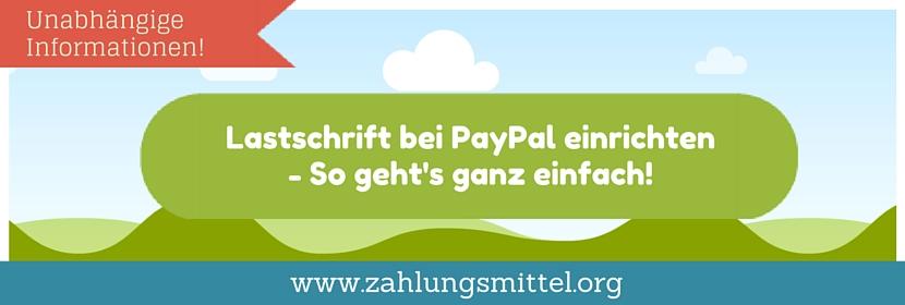 Paypal Lastschrift Wann Wird Abgebucht