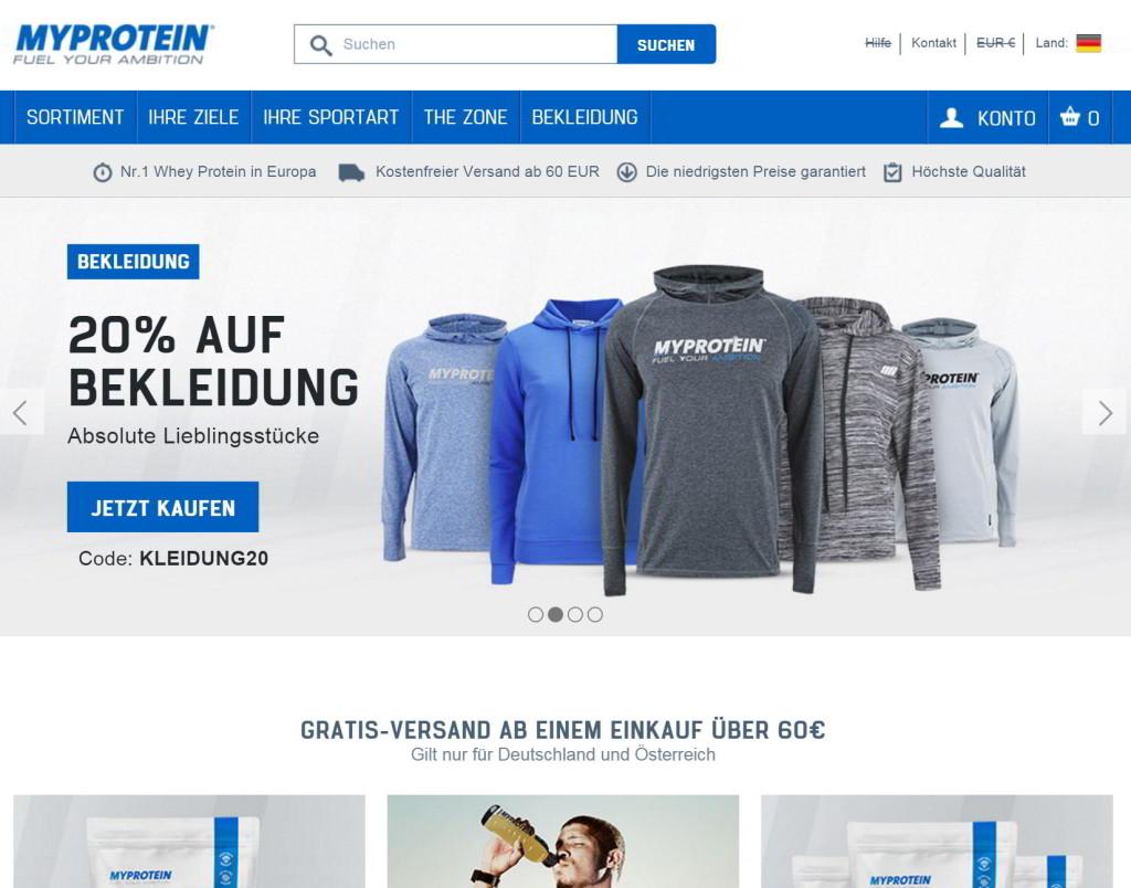 der myprotein-online-shop