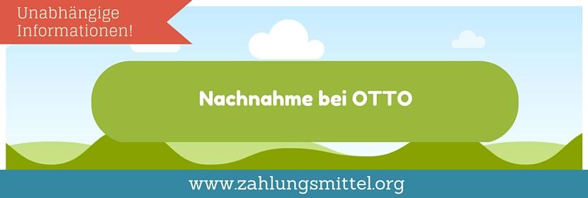 Per Nachnahme bei OTTO.de bestellen - geht das?