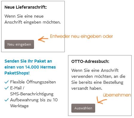 Lieferadresse Bei Otto ändern Schritt Für Schritt Erklärt