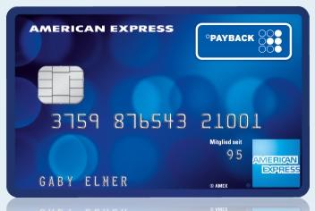 Payback Kreditkarte ohne Girokonto