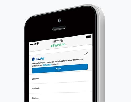 PayPal Plus mobil bezahlen