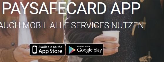 Die App für Paysafecard