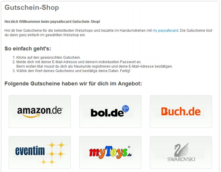 Amazon Paysafe Bezahlen