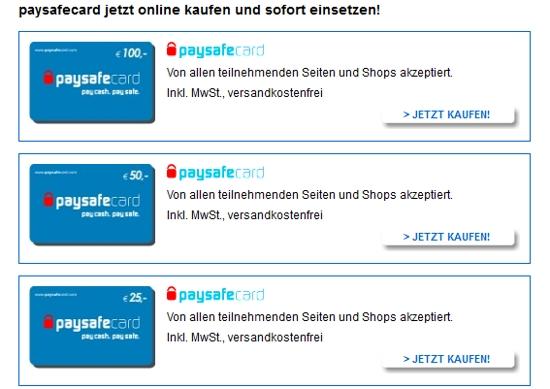 5 Euro Paysafecard Kaufen