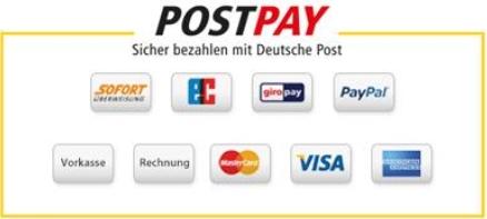 Die Zahlungsmöglichkeiten bei Postpay