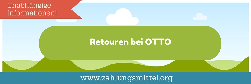 Umtausch, Retoure bei OTTO. So klappts mit dem Zurücksenden!