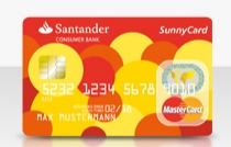 Santander Kreditkarte ohne Girokonto