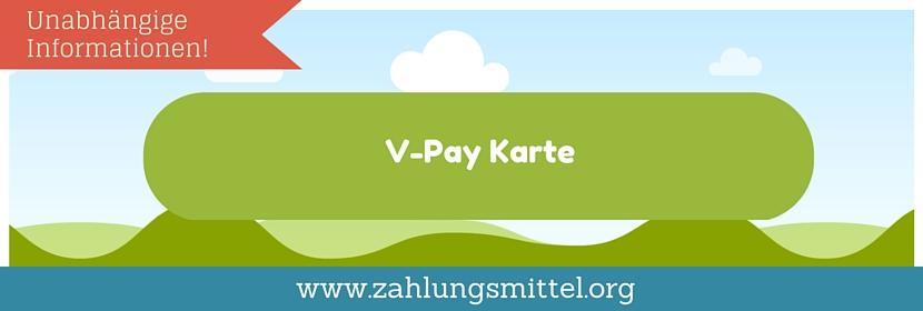 Ec Karte Kartennummer.V Pay Karte Zahlungsmittel Org
