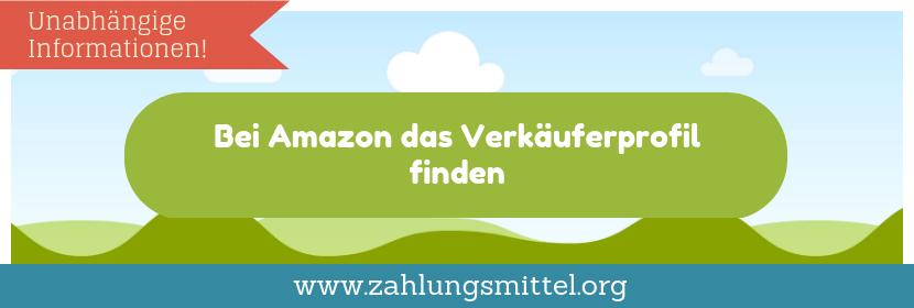 Verkäufer bei Amazon finden