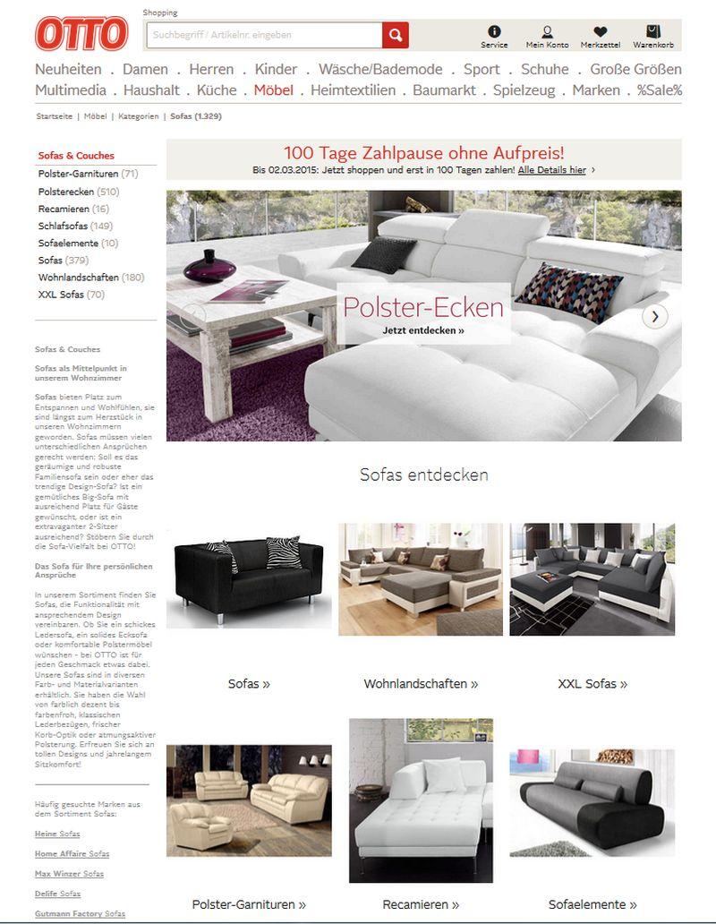 Couch auf Raten kaufen - So klappt\'s mit dem neuen Sofa!