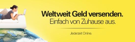 Western Union – zu jeder Zeit Geld senden