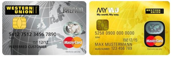 Western Union Prepaid